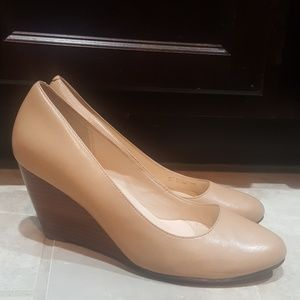 COLE HAAN Leather Wedges - Size 7 1/2